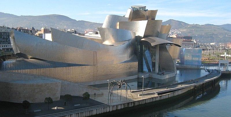 Le Musée Guggenheim de Bilbao en Espagne