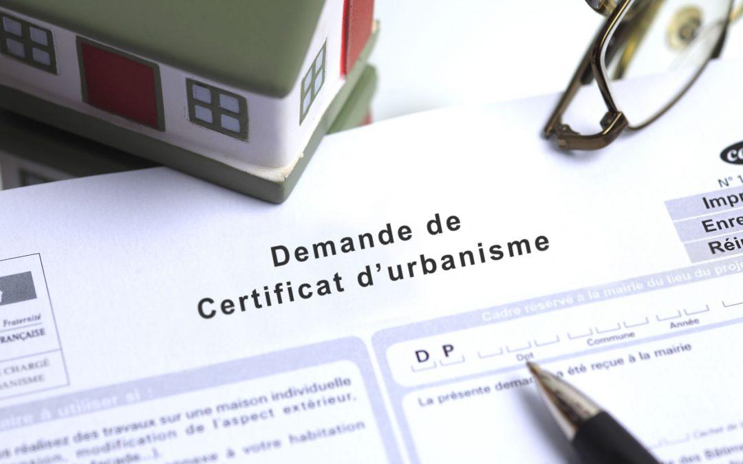 Certificat d'urbanisme : qu'est-ce que le certificat d'information ?