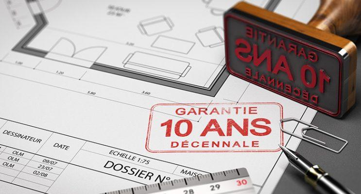 Garantie décennale : définition selon le code civil