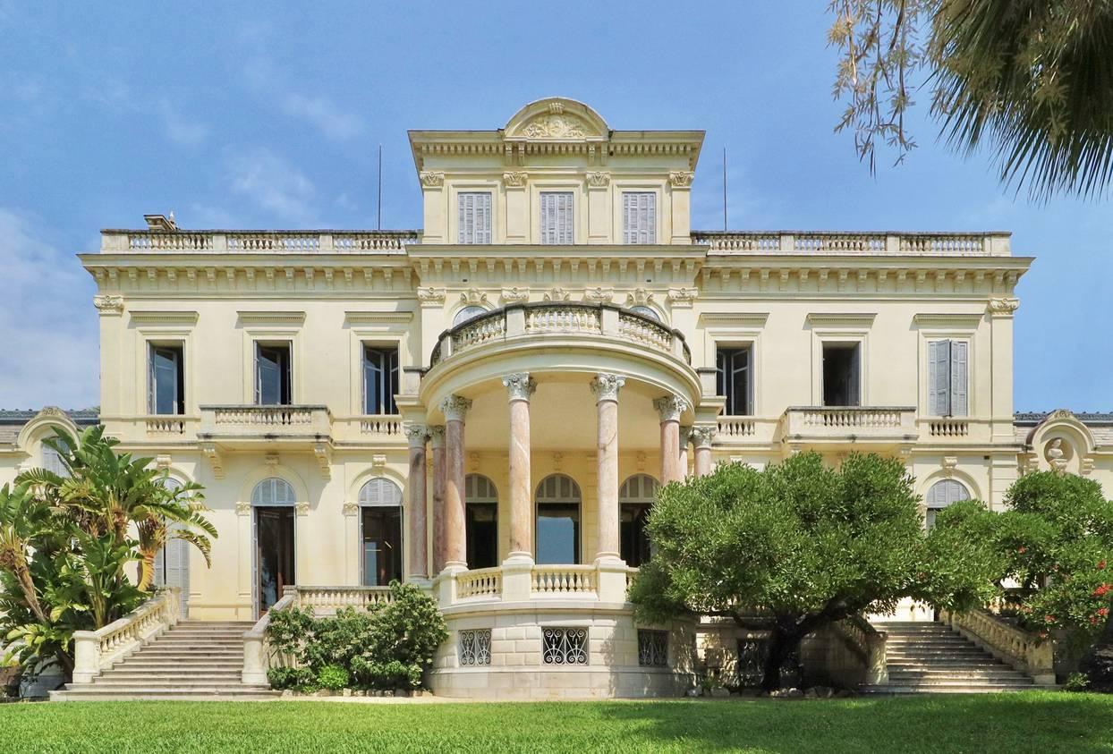 villas de luxe Côte d'Azur